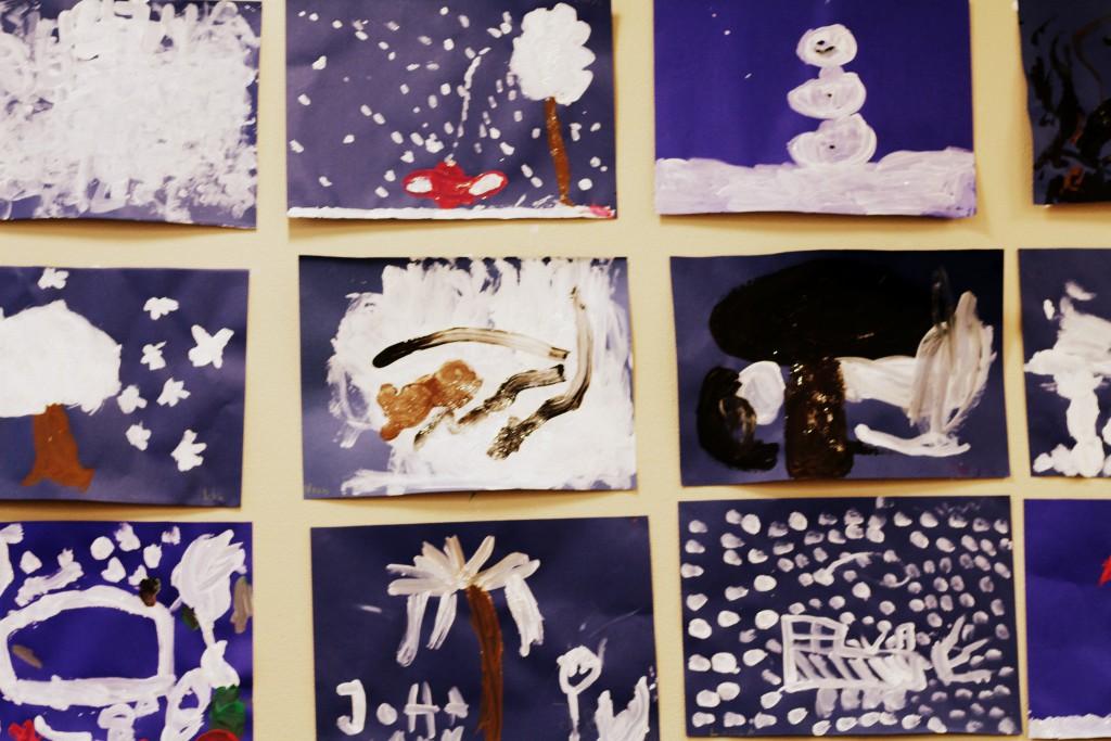 Konstverk på Förskolan Leko
